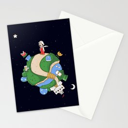 Pequeno Bigodudo Stationery Cards