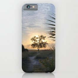 Glowing Tree on SK  iPhone Case