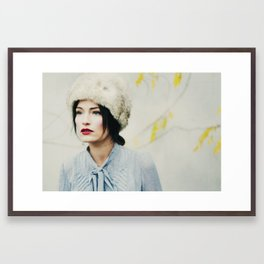 Russian Winter Framed Art Print