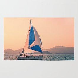 Yacht racing Rug