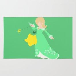 Rosalina(Smash)Green Rug