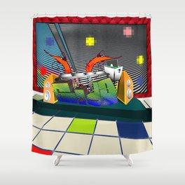 Prawn Dance Shower Curtain
