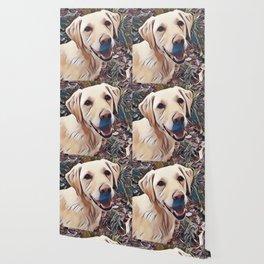Yellow Labrador Retriever Wallpaper