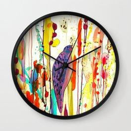 vers le ciel Wall Clock
