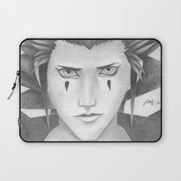 Kingdom Hearts' Axel Realistic Portrait Laptop Sleeve