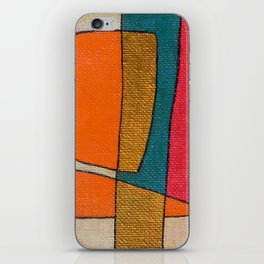 The Abstract Daily Art Print #1 iPhone Skin