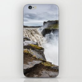 Power of Dettifoss iPhone Skin