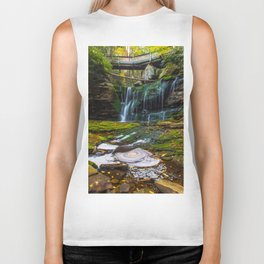 Blackwater Falls Waterfall Biker Tank