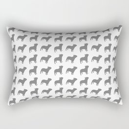 French Bulldog Pattern Rectangular Pillow