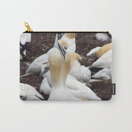 Northern gannet embrace Carry-All Pouch