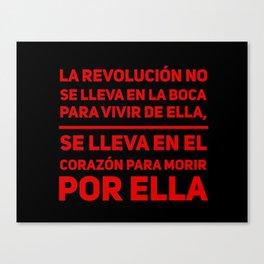 La Revolución Canvas Print