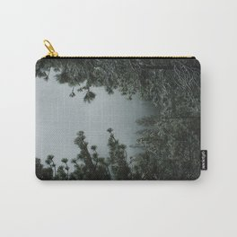 Backwoods Winter: Ponderosa Pines, Washington Carry-All Pouch