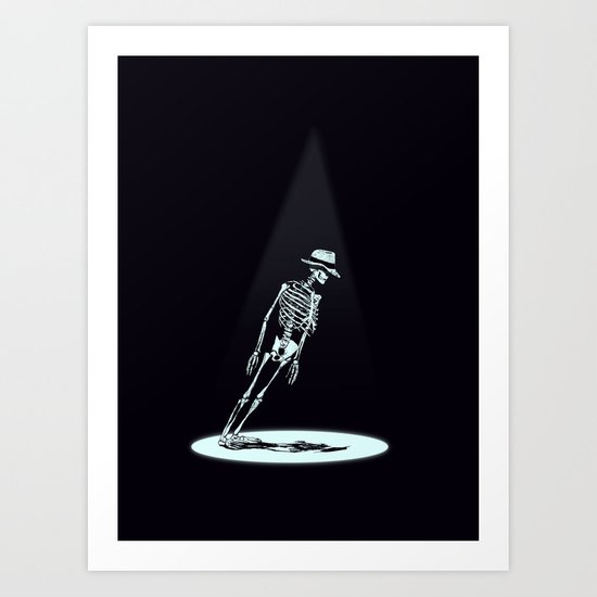 Anti-Gravity Art Print