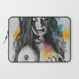 Paint a Vulgar Picture   female nude erotic portrait Laptop Sleeve