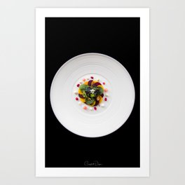 The Art of Food Colours of Nature Art Print