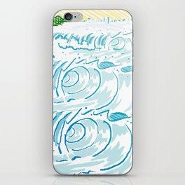 BIG WAVE iPhone Skin