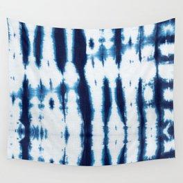 Linen Shibori Shirting Wall Tapestry