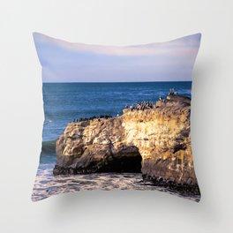 Natural Bridges, Santa Cruz Throw Pillow