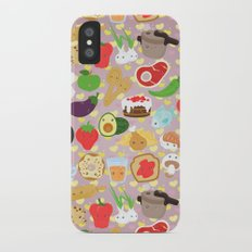 Cute food iPhone X Slim Case