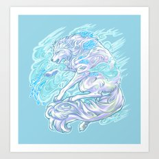 Frost Bite Art Print