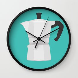 #67 Bialetti Wall Clock