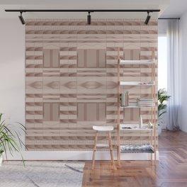 Beige Windows Abstract Wall Mural