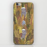 home sweet home iPhone & iPod Skins featuring Home by David Avend