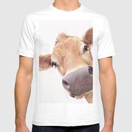 Just saying Hi Jersey cow T-shirt