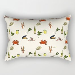 Summer Kitchen Rectangular Pillow