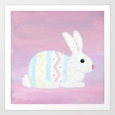 The Real Easter Bunny Art Print