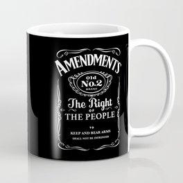 2nd Amendment Whiskey Bottle Coffee Mug
