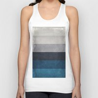 greece Tank Tops featuring Greece Hues by Diego Tirigall