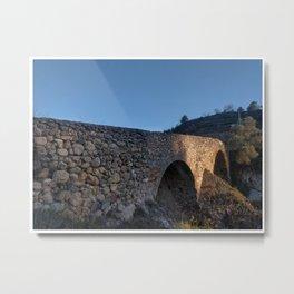 Puente Romano Metal Print