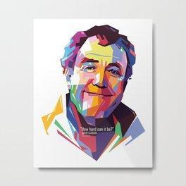 Jeremy Clarkson WPAP #2 Metal Print