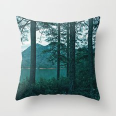Lake Shasta Beauty Throw Pillow