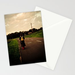 Let your feet take you there. Stationery Cards