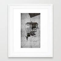 fandom Framed Art Prints featuring Fandom by Nathan Ian Green