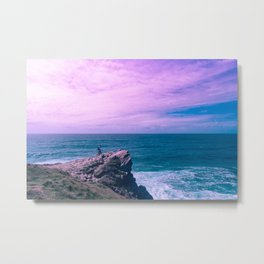 Fistral Beach - Cornwall, England Pt.II Metal Print