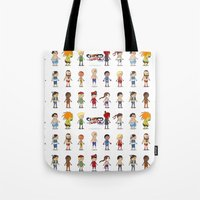 Super Street Fighter II Turbo Tote Bag