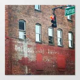 Delicious Disappearance Canvas Print