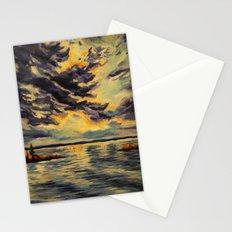 I'll be at the lake  Stationery Cards