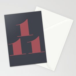 NOVEMBER 1st Stationery Cards