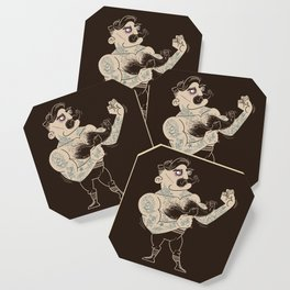 Overly manly man Coaster