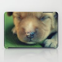 puppy iPad Cases featuring Puppy by Luiza Lazar