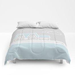 Lagoon House Comforters