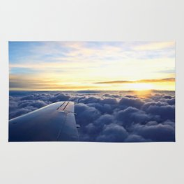 Sunrise Above the Clouds Rug