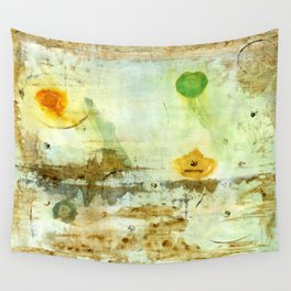 Drifting, Abstract Landscape Art Painting Wall Tapestry