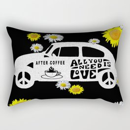 LOVE AND COFFEE Rectangular Pillow
