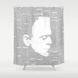 Frankenstein - The Modern Prometheus Shower Curtain