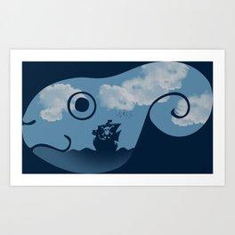 Adventure Friend Art Print